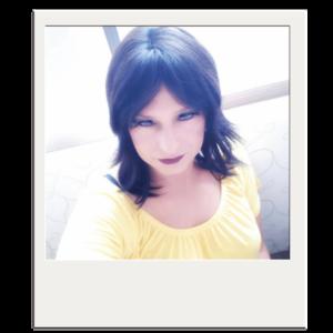 Das Bild zeigt ein Polaroid-Foto von Gründerin Kim-Oliver Traumüller
