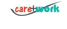Das Bild zeigt das Logo der Firma care&Work